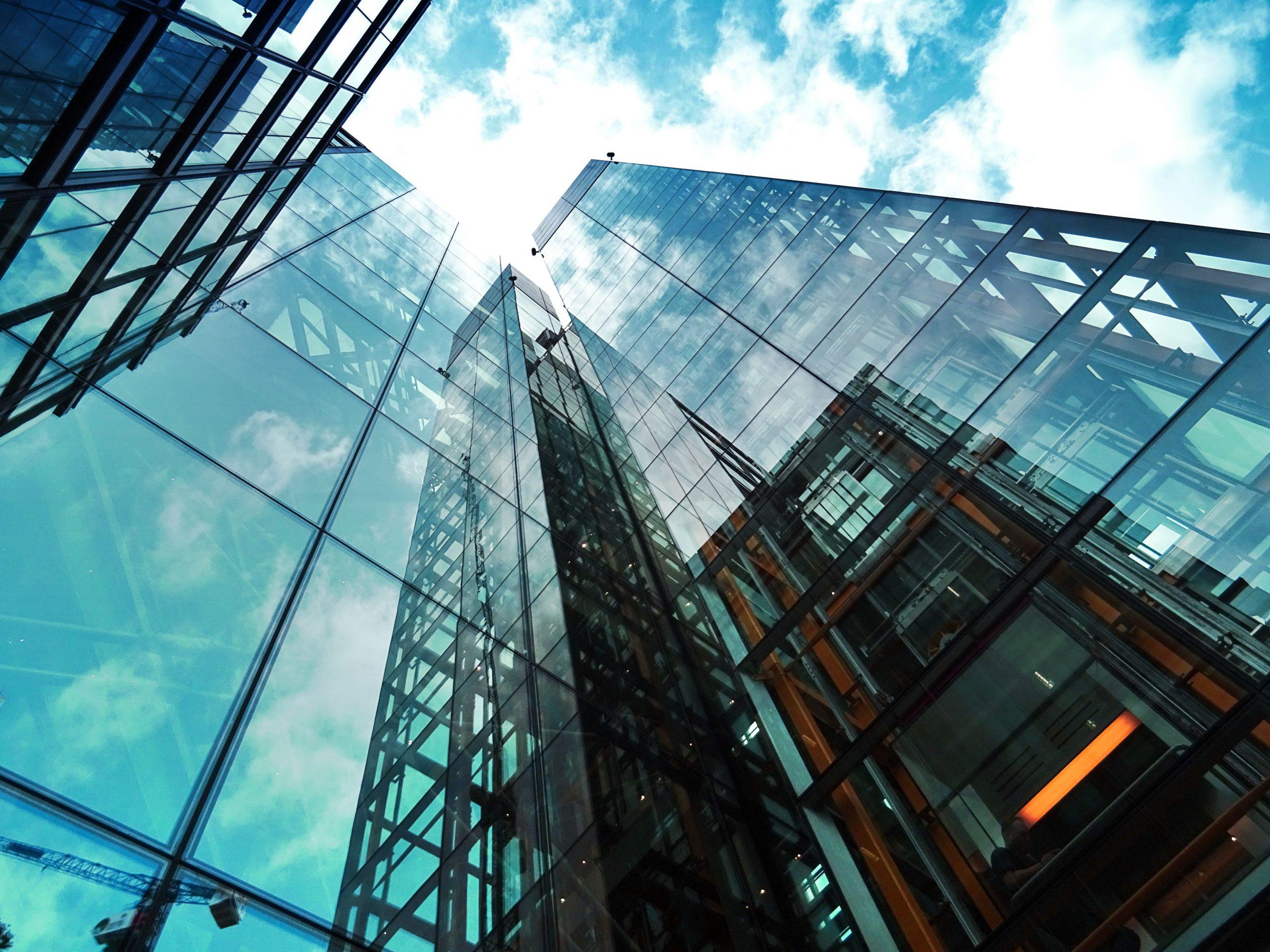 Foto del edificio de una empresa