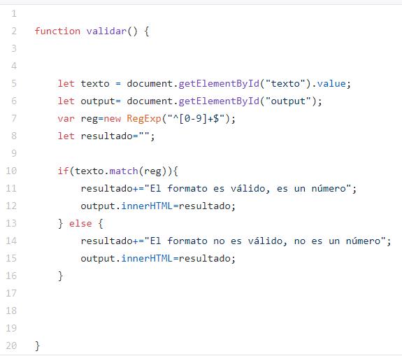 Ejemplo sencillo de algoritmo en JavaScript