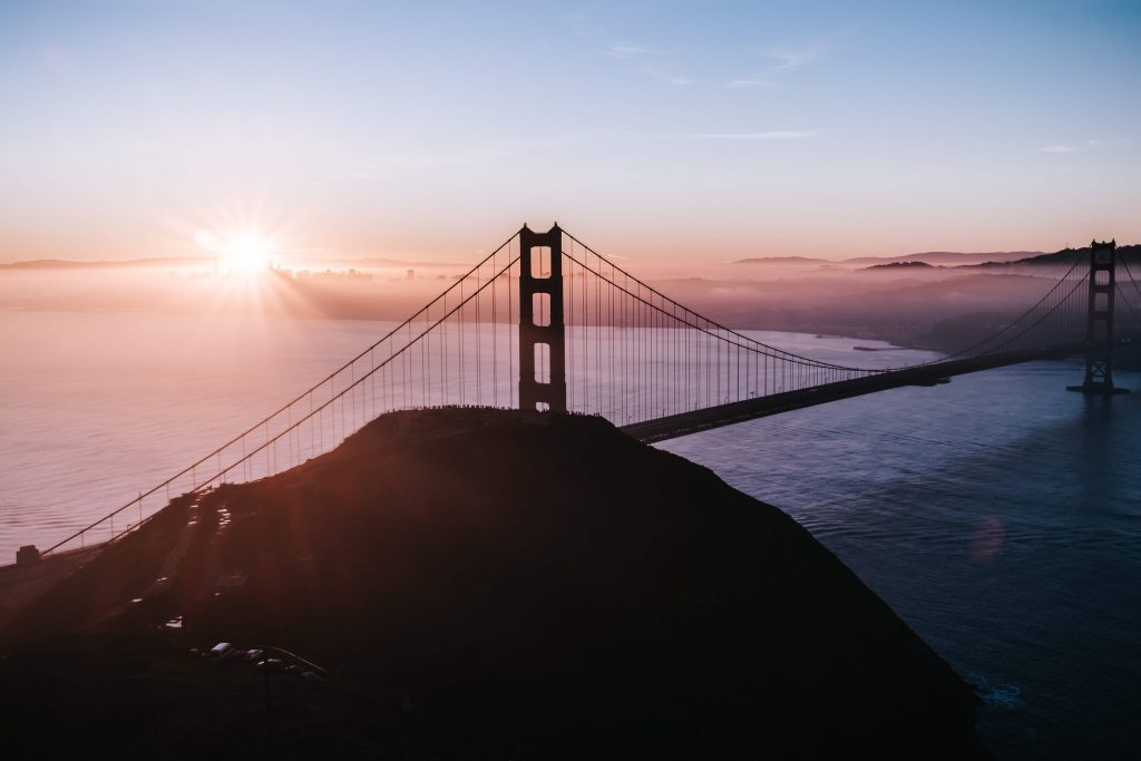 Imagen del puente Golden Gate de San Francisco