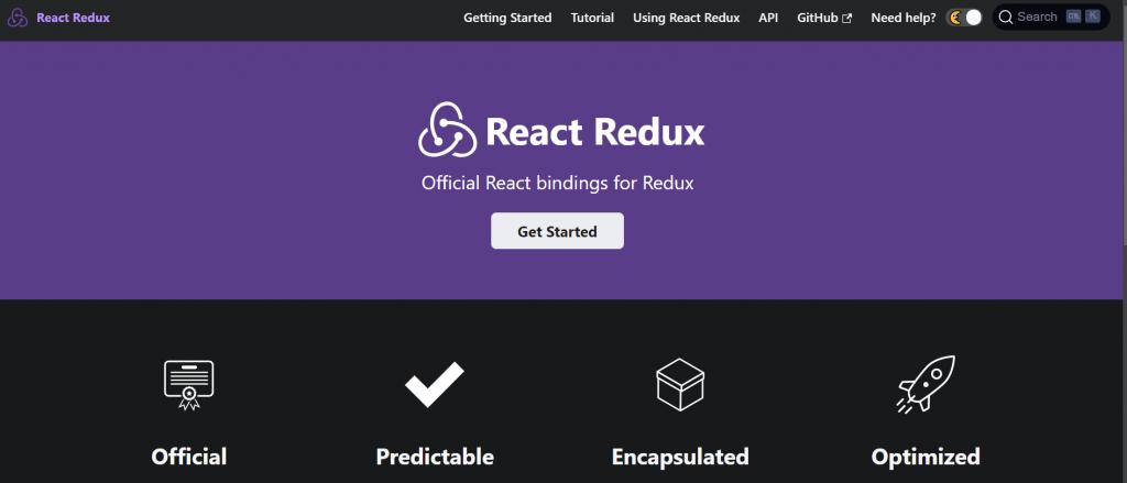 Home de React Redux