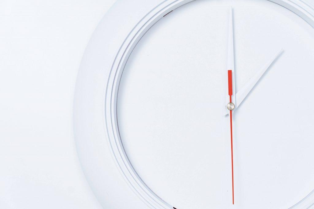 Imagen de un reloj