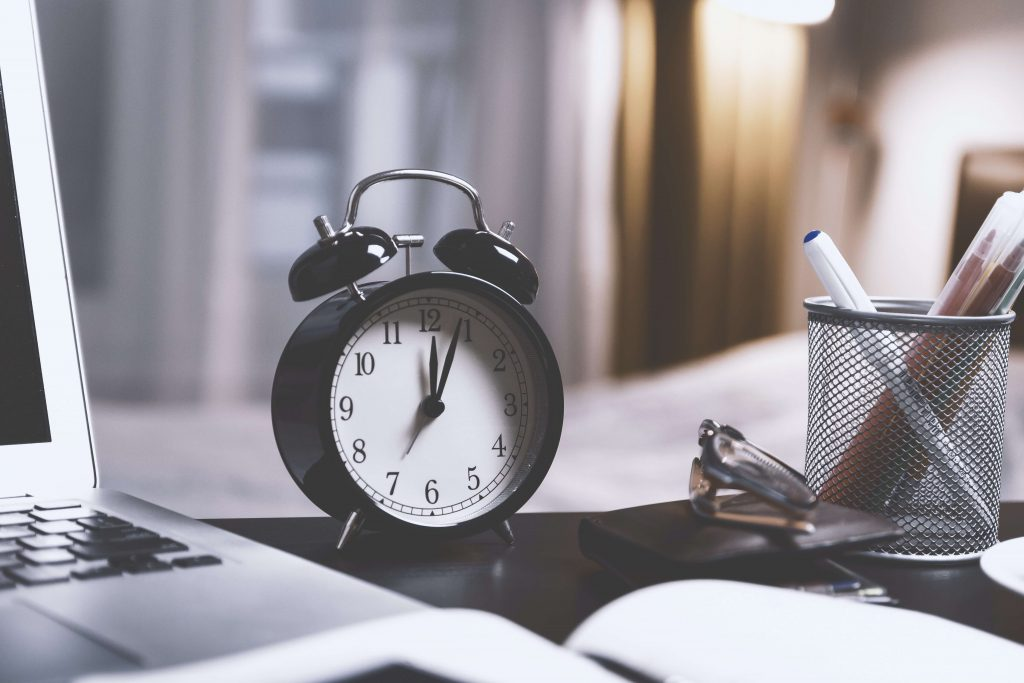 Imagen de un reloj despertador
